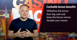 The Cash back bonus